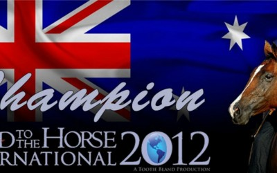 Team Australia wins Road to the Horse 2012